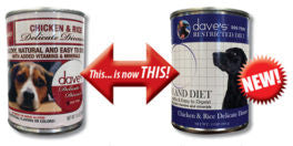 Dave's Delicate Dinner™ Canned Dog Food