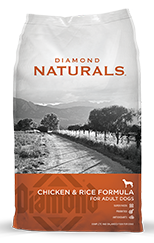 Diamond Naturals - Chicken and Rice Formula Dog Food