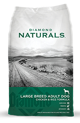 Diamond Naturals - Large Breed Chicken and Rice Dog Food