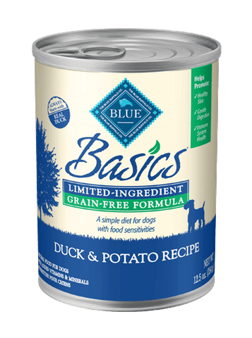 Blue Buffalo BLUE Basics® Grain-Free Duck & Potato Recipe for Dogs