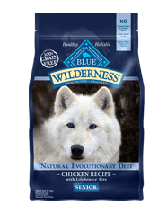 Blue Buffalo BLUE Wilderness Senior Chicken Recipe for Dogs