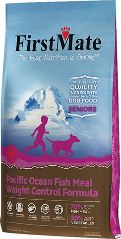FirstMate™ Grain Free Pacific Ocean Fish Meal Weight Control Formula Dog Food