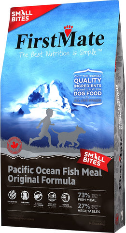 FirstMate™ Grain Free Pacific Ocean Fish Meal Original Formula Small Bites Dog Food 14.5 Lbs