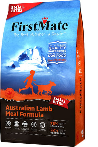 FirstMate™ Grain Free Australian Lamb Meal Formula Small Bites Dog Food 14.5 Lbs