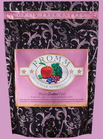 Fromm Four-Star Nutritionals® Beef Liváttini Veg® Food for Cats