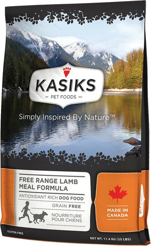 FirstMate™ Kasiks Free Range Grain Free Lamb Meal Formula Dog Food 25 lbs
