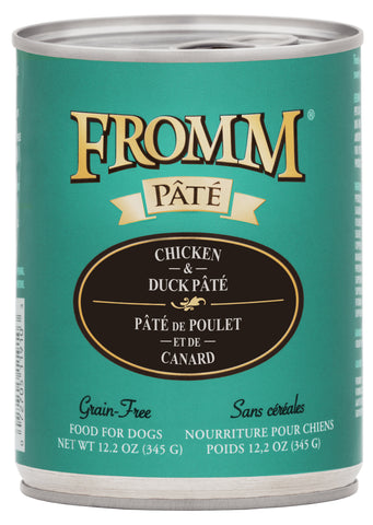 Fromm Chicken & Duck Pâté Food for Dogs
