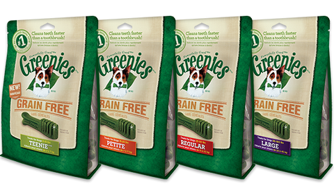 Greenies Grain Free Dental Chews for Dogs