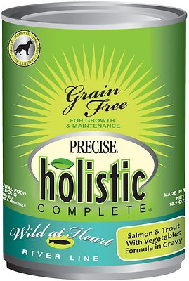 Precise Holistic Complete Grain Free Wild at Heart River Line – Salmon & Trout Dog Food
