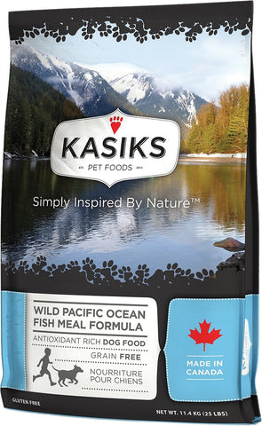 FirstMate™ Kasiks Grain Free Wild Pacific Ocean Fish Meal Formula Dog Food 25 Lbs