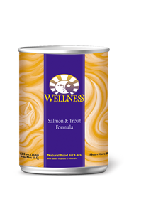Wellness Complete Health Salmon & Trout Recipe Cat Food