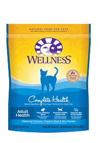 Wellness Complete Health Deboned Chicken, Chicken Meal & Rice Cat Food