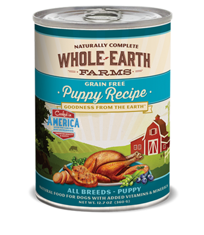 Whole Earth Farms Puppy Recipe Wet Food