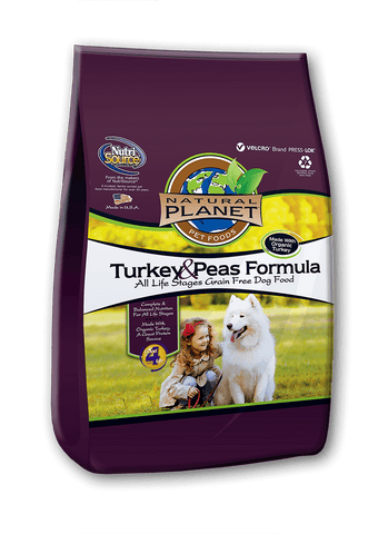 Natural Planets Organics Dog Grain Free Turkey