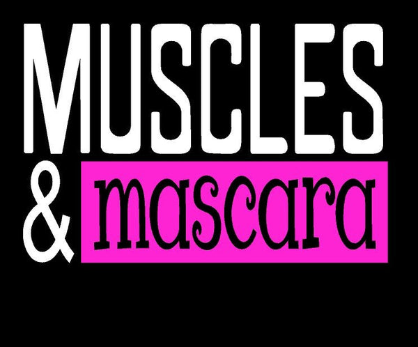 Muscles & Mascara Younique T-shirt ,Brand It Creations