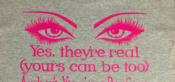 Yes, They're Real Younique T-Shirt ,Brand It Creations