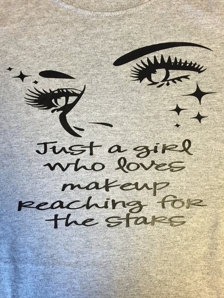 Just A Girl Younique T-shirt ,Brand It Creations