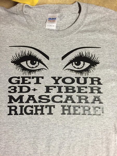 Get Your 3D Fiber Lashes Younique T-shirt ,Brand It Creations