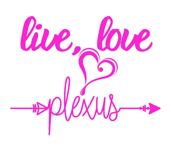 Live, Love Plexus Girl T-shirt ,Brand It Creations
