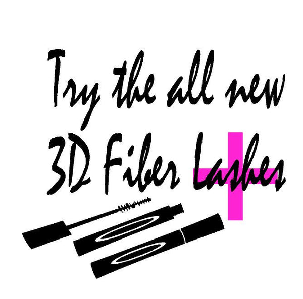 Try the all New 3D Fiber Lash + ,Brand It Creations