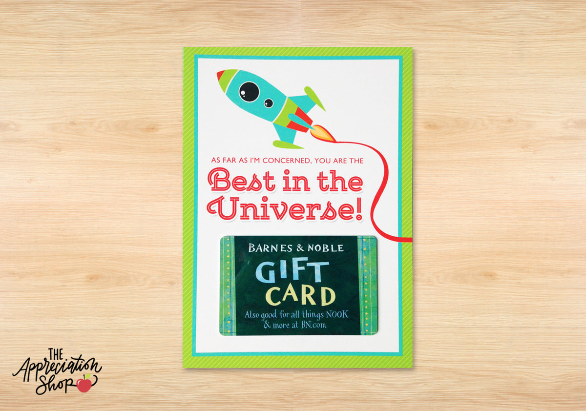 """Best in the Universe"" Gift Card Holder - The Appreciation Shop"