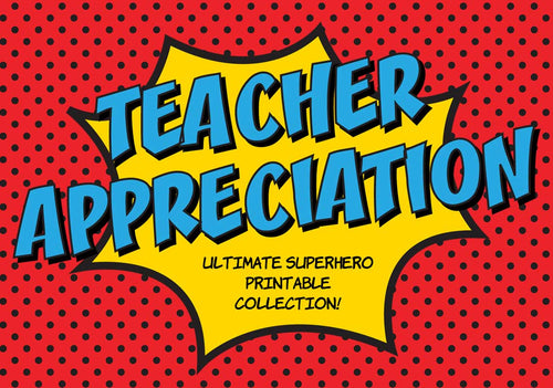 Teacher Appreciation Week Collection - The Appreciation Shop