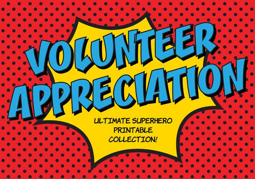 Volunteer Appreciation Week Collection - The Appreciation Shop