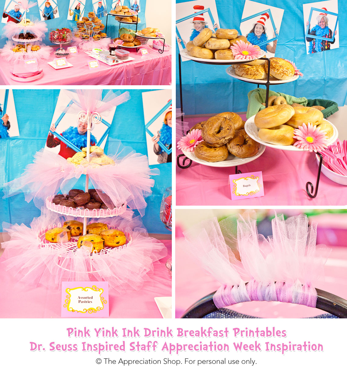 Pink Yink Breakfast Printables - The Appreciation Shop