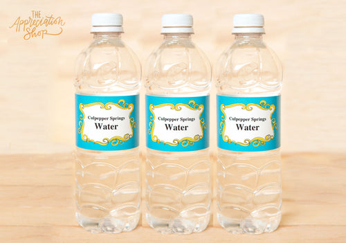Water Bottle Labels - The Appreciation Shop