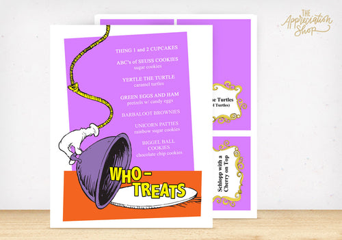 Who Treats Printables - The Appreciation Shop