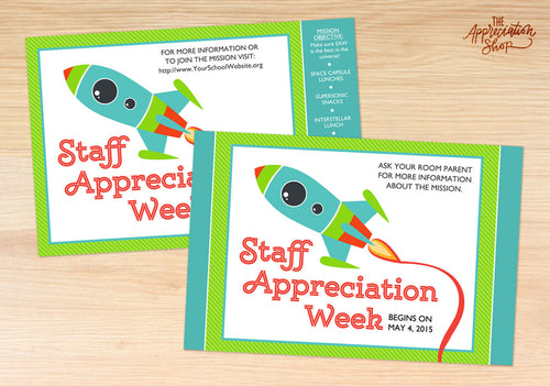 Promotional Posters for Staff Appreciation Week - The Appreciation Shop