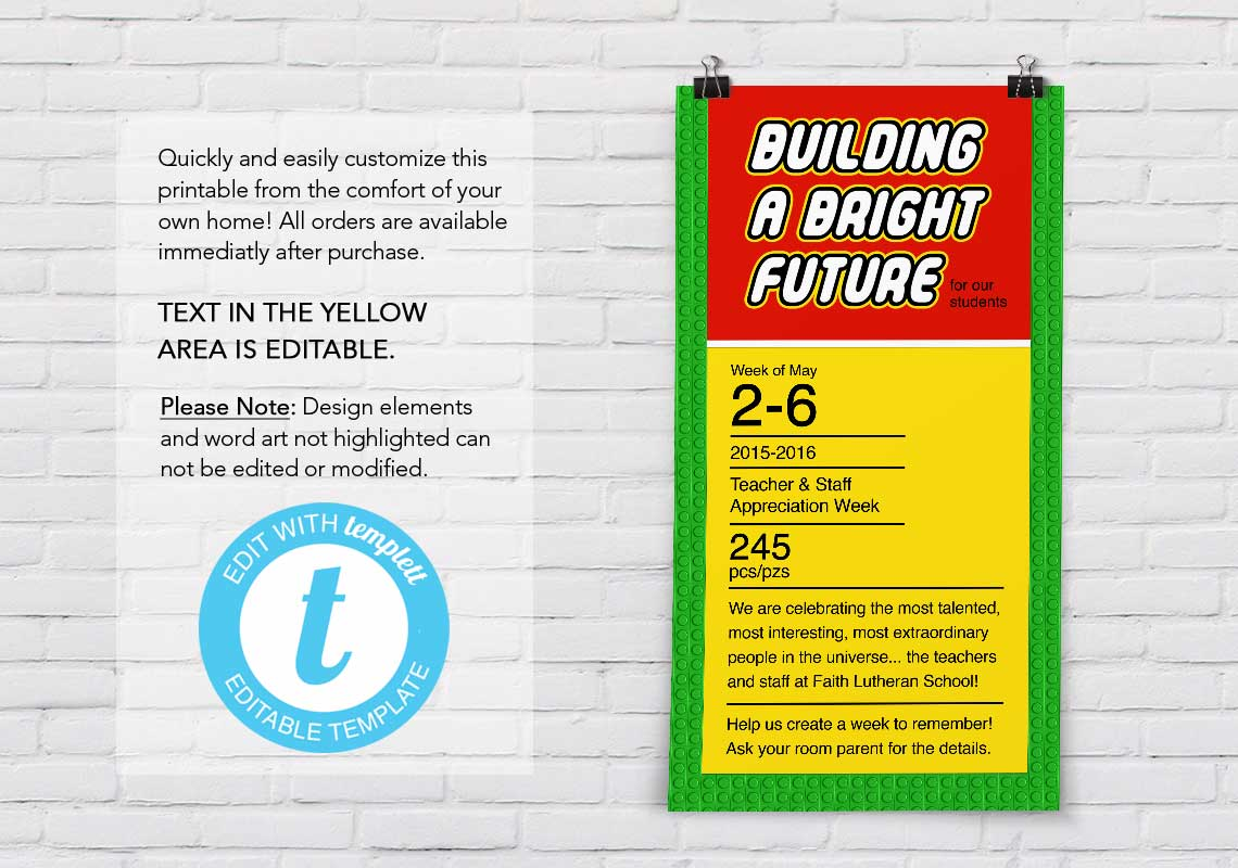 """Building a Bright Future"" Poster - The Appreciation Shop"
