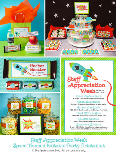 Staff Appreciation Week Collection - The Appreciation Shop