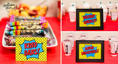 Super Charged Breakfast Printables - The Appreciation Shop