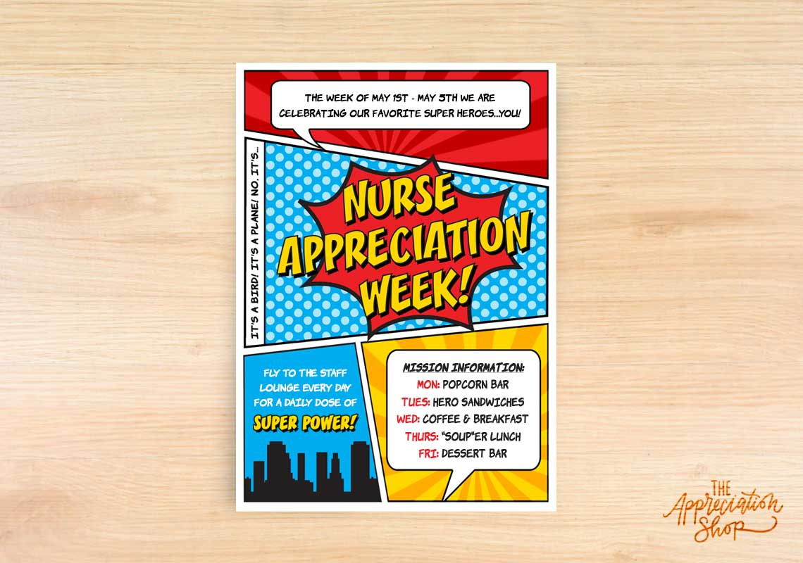 Nurse Appreciation Week Invitation - The Appreciation Shop