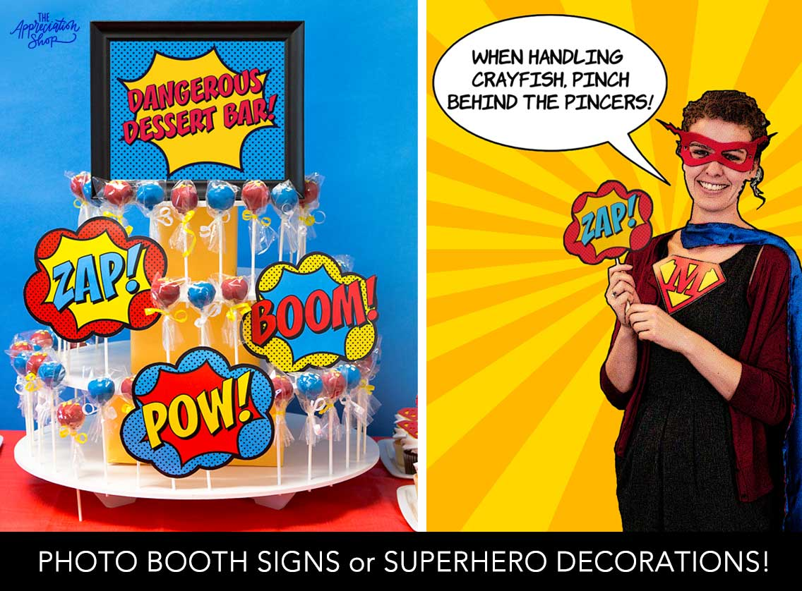 Photo Booth Signs - The Appreciation Shop