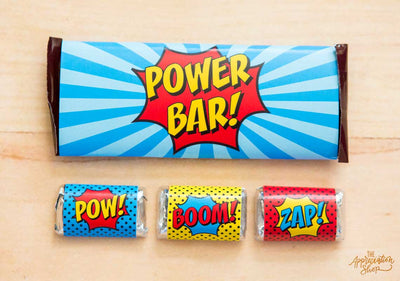 Candy Bar Wrappers - The Appreciation Shop