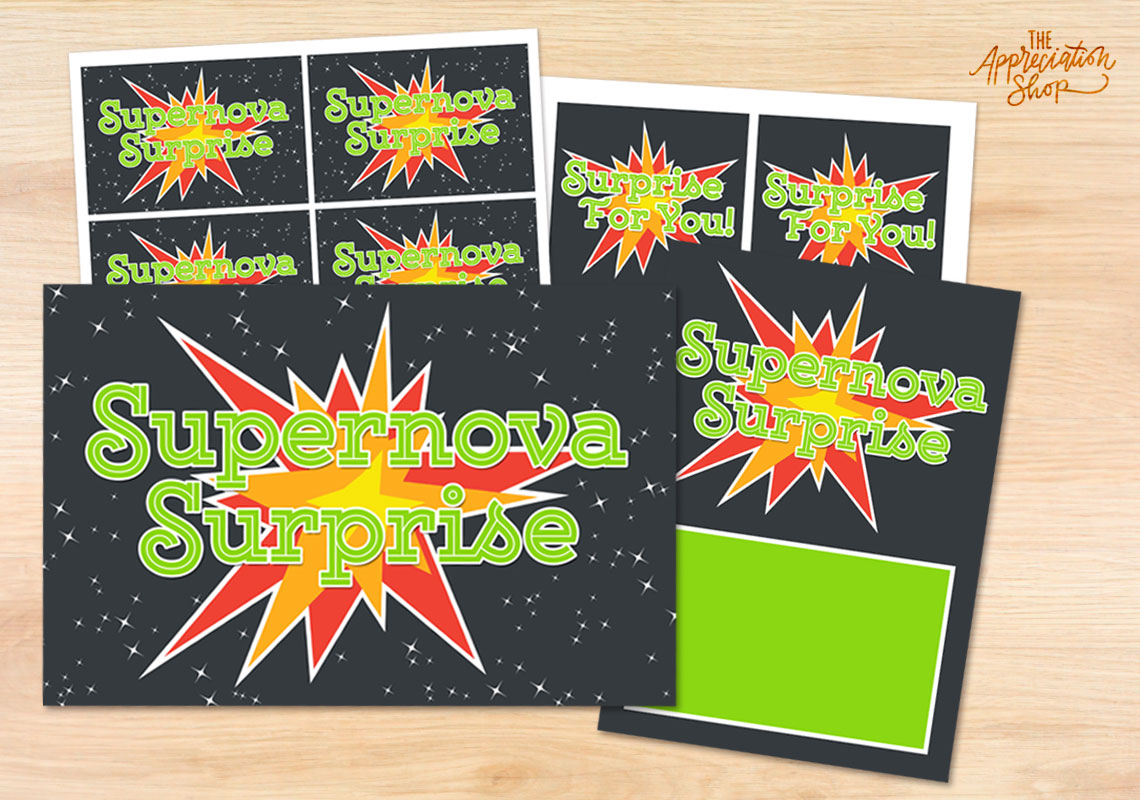 Supernova Surprise Decoration Kit - The Appreciation Shop