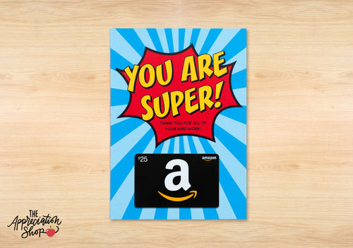Superhero Gift Card Holder - The Appreciation Shop