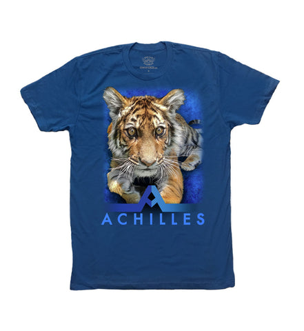 Achilles Ladies Tank Top (Blue)