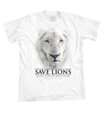 King Ali Save Lions T-shirt (White)