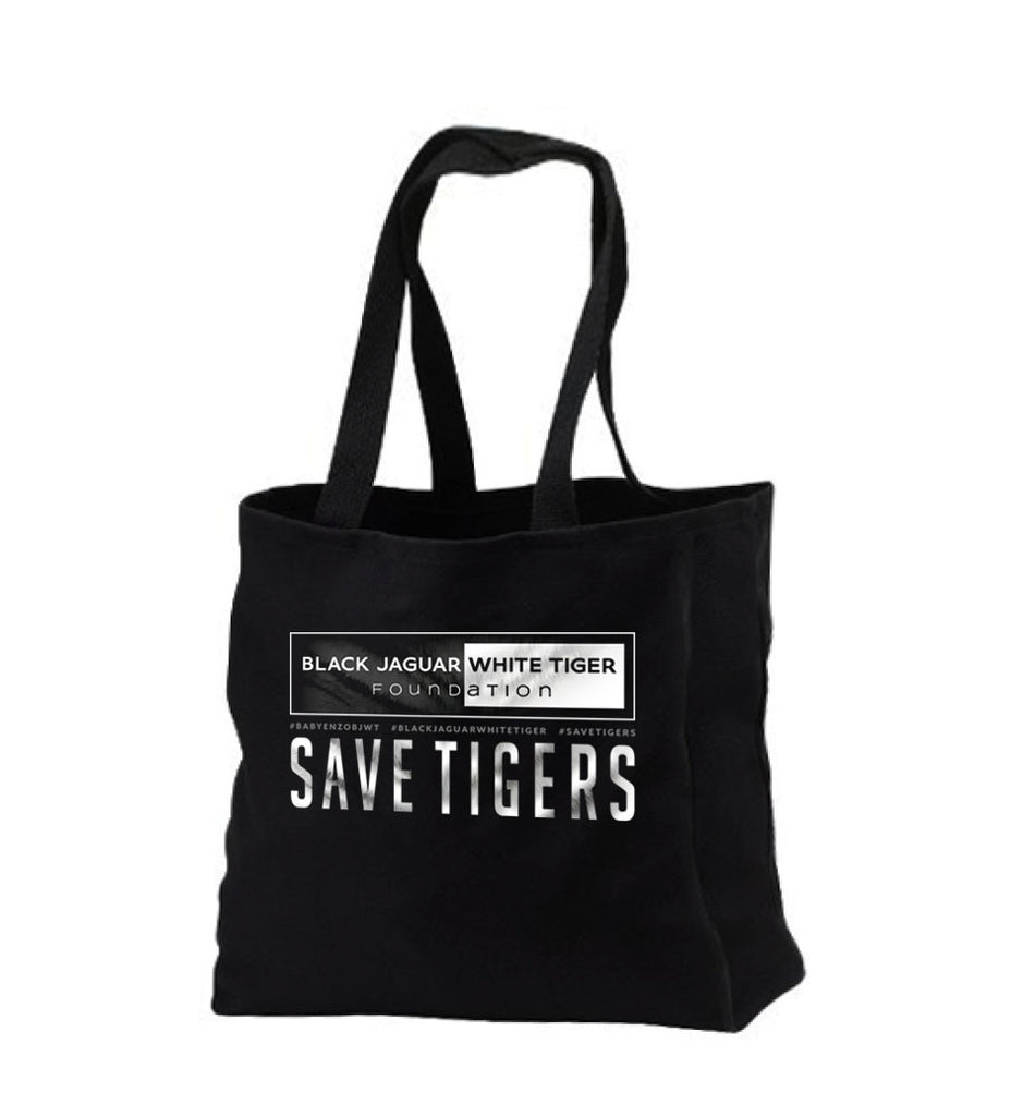 Enzo Save Tigers Tote Bag