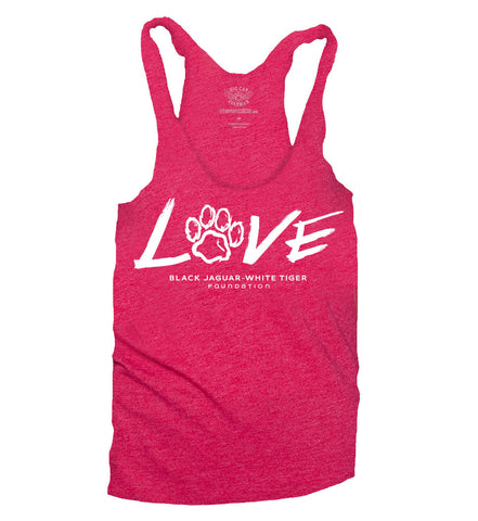 LOVE Tank Top - Vintage Black
