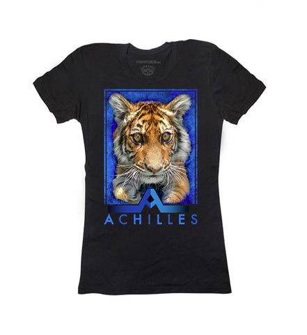 Enzo Save Tigers Ladies V-Neck