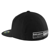 Black/Black 3D Fitted Hat