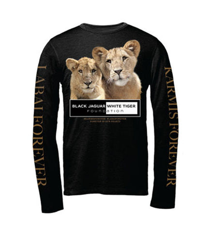 King Ali Save Lions T-shirt (Black)