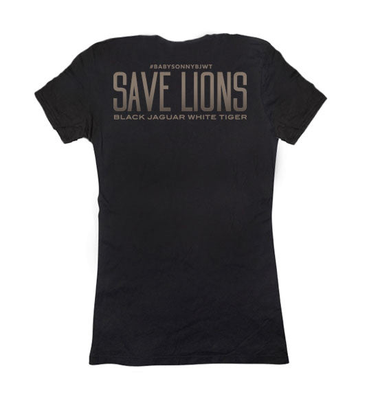 Sonny Save Lions Ladies Tee