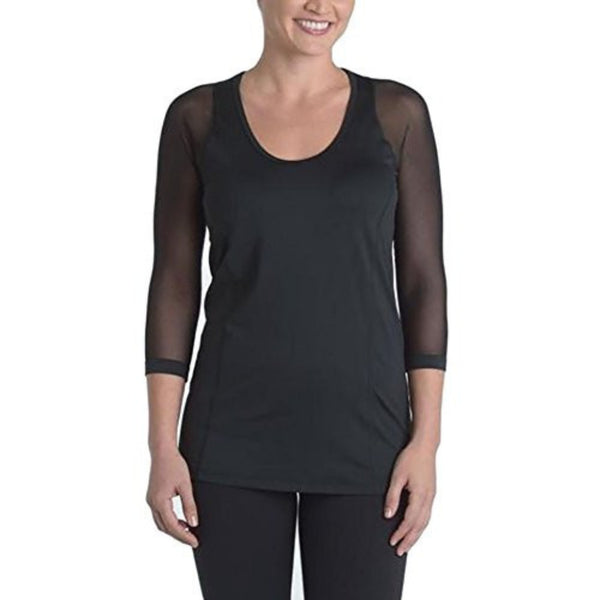 Scoop-Neck Top - Classic Black