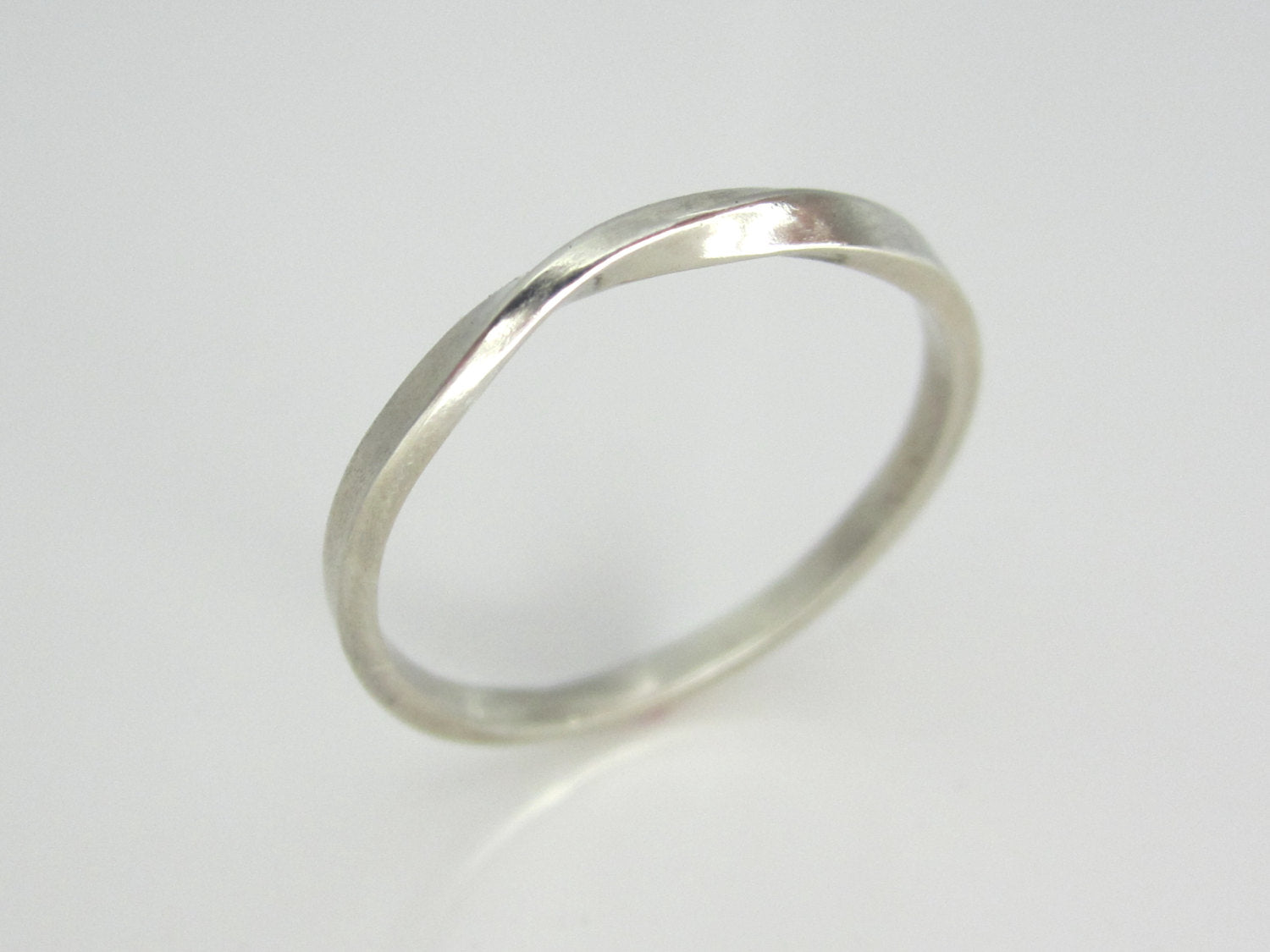 f757d3aa546 ... White Gold Mobius Strip Ring