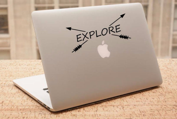 Decal - Explore - Crossbows Decal, Car Decal, Laptop Decal, Macbook Decal, Ipad Decal